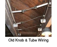 knob and tube on queens home inspection